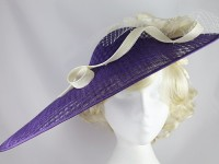 J.Bees Millinery Asymmetrical Saucer